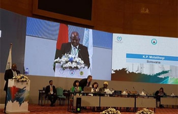 The Botswana Parliament, led by the Deputy Speaker, Hon Kagiso Molatlhegi, attended the 136th Inter-Parliamentary Union Assembly in Dhaka, Bangladesh, from the 1st -5th April 2017.